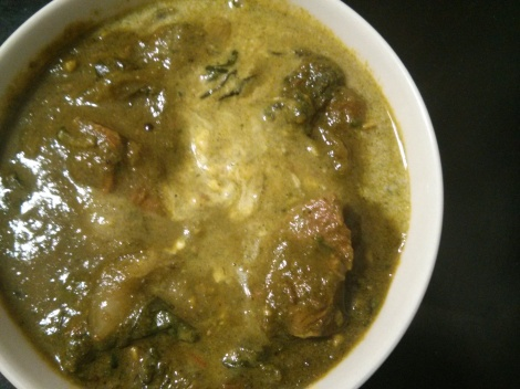 Lamb Saagwala (Lamb and Spinach Curry) | WhitBit's Kitchen