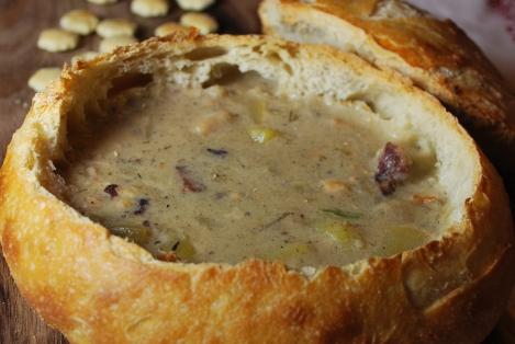 Claim Chowder #chowder #soup